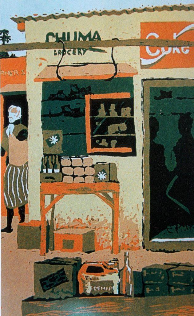 Lutanda Mwamba (Zambia), Chuma Grocery, 1993.