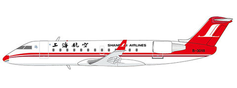 XX4144 | JC Wings 1:400 | Bombardier CRJ-200ER Shanghai Airlines B-3018 | is due: June 2018