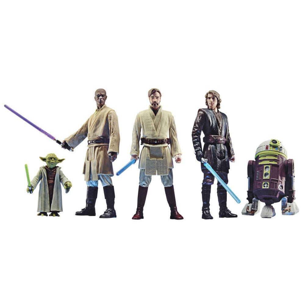 Image of Star Wars Celebrate the Saga Jedi Order 3 3/4-Inch Action Figure Set - OCTOBER 2020