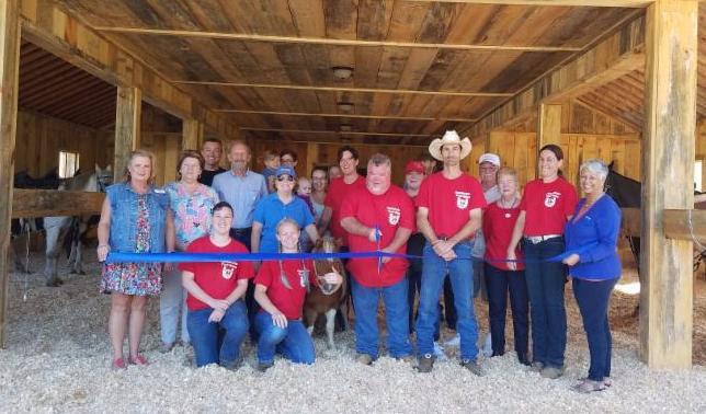 Appalachian Trail Rides Ribbon Cutting