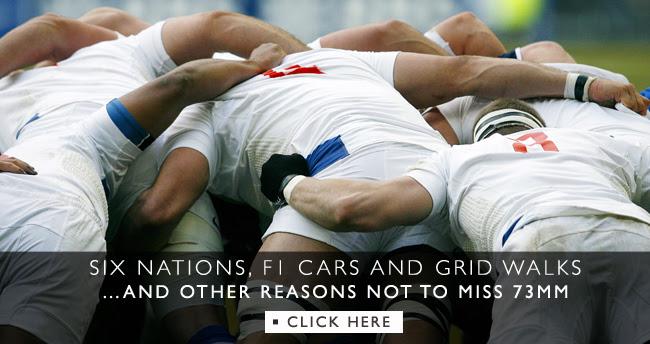 Six nations, F1 cars and grid walks...