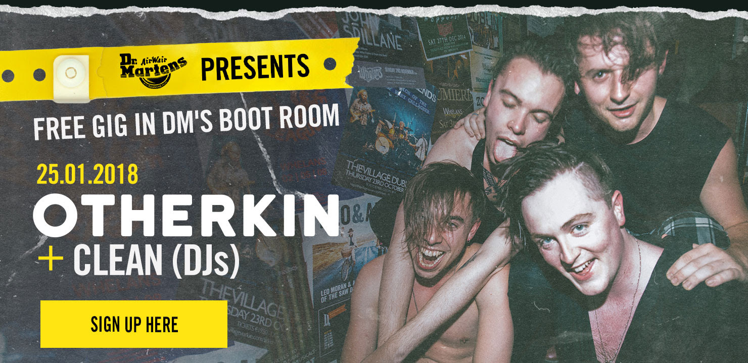 FREE GIG IN DM'S BOOT ROOM - Otherkin + CLEAN (DJs) Jan 25th