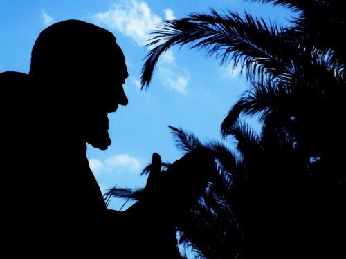 Padre Pio-Taormina  fondo oscuro