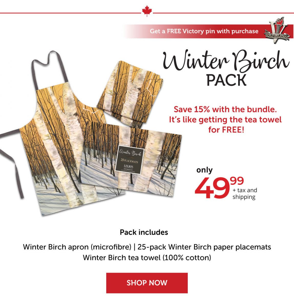 Winter Birch Pack