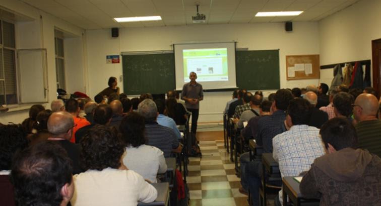 Alberto Ayora presenta web MAPA ©Gobierno de Aragón