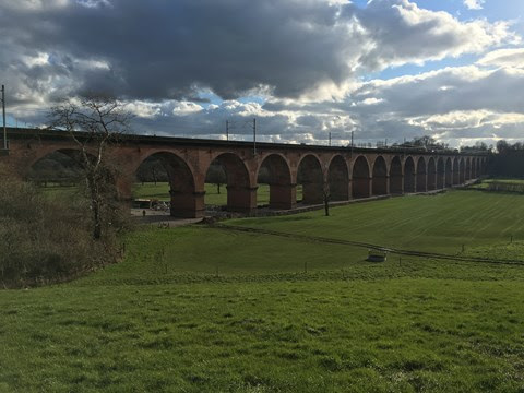 Network Rail reopens railway in Cheshire following £17m investment in iconic bridges and viaduct