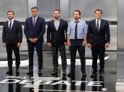 Los principales candidatos deberán pactar para poder gobernar España.