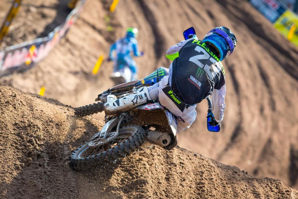 Aaron Plessinger was fifth overall (3-7) and continues to hold the red plate.