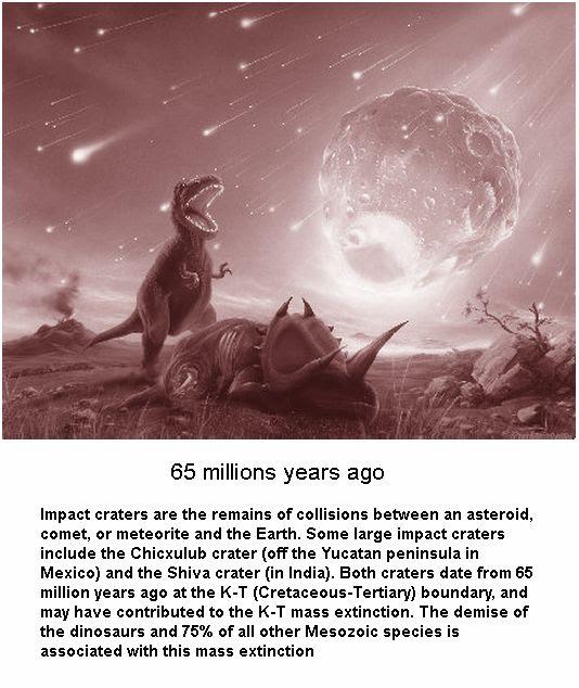 65 millions years ago