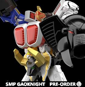 Hyakuju Sentai Gaoranger SMP GaoKnight Model Kit Set