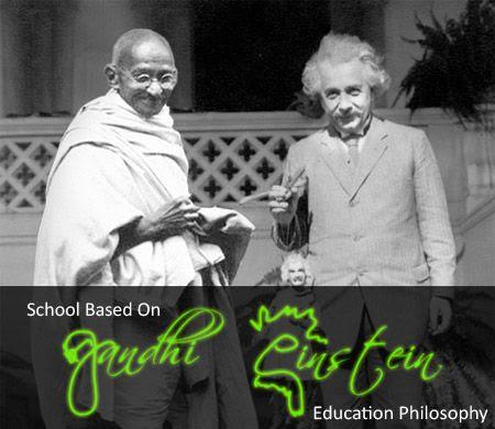 Gandhi and Einstein