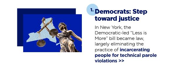 1. Democrats: Step toward justice