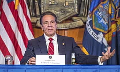 'I don't care what you think': Cuomo lashes out at reporters at Covid briefing