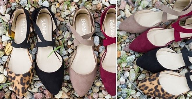 Fashion Elastic Flats + More!