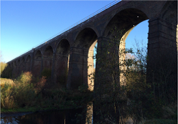 Network Rail reopens the Hope Valley line between Sheffield and Manchester following successful refurbishment of iconic Reddish viaduct
