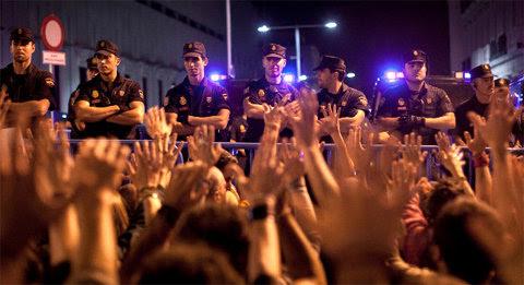 Manifestación en Madrid en junio de 2011 ©AP | Arturo Rodríguez