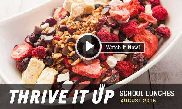 THRIVE It Up | School Lunches