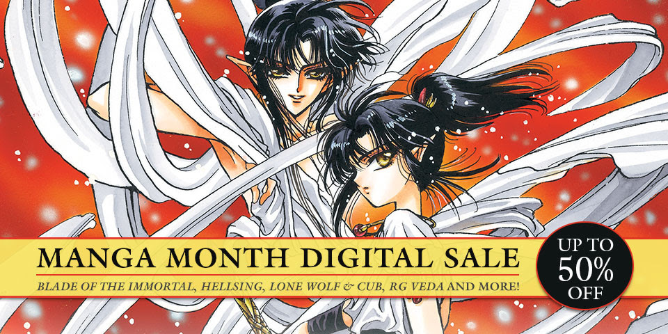 Manga Month Sale