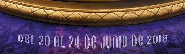 Del 20 al 24 junio de 2018