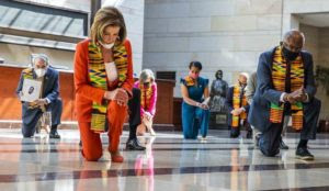 Nancy Pelosi, High Priestess of the Left's Cult, Gives Thanks to Floyd Her Savior