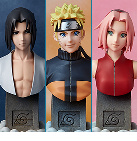 NARUTO SHIPPUDEN 1/6 SCALE BUSTS