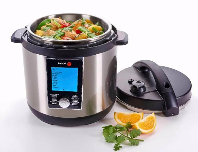 Fagor Introduces the LUX™ LCD Multi-Cooker, the Most Multifunctional Small Appliance on the Market
