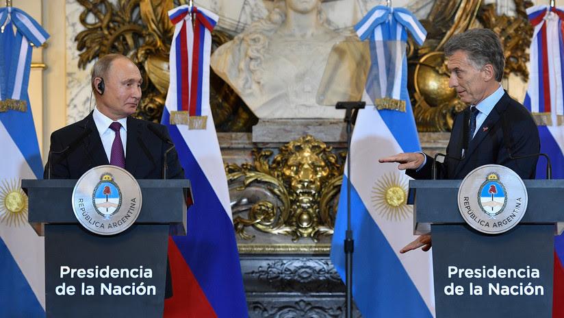VIDEO: La broma de Macri a Putin que casi pasa desapercibida en la rueda de prensa conjunta