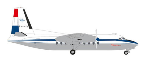 570930   Herpa Wings 1:200 1:200   Fokker F-27 Fokker 1st Flight PH-NIV (die-cast)   is due: September 2020
