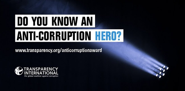 Anti-Corruption Award 2018