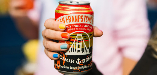 Enjoy San Franpsycho® IPA in Cans This Summer