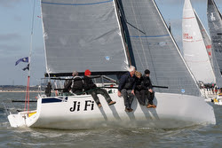 J/88 JiFi sailing Warsash Spring Series