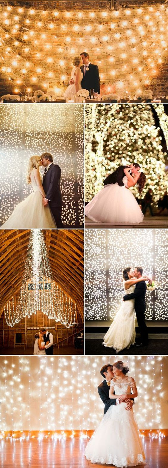 Use Lots Of Lovely Lights For A Romantic Look