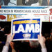 Supporters of Conor Lamb, a Democrat, reacted to the results coming in during the special election in Pennsylvania's 18th Congressional district on Tuesday.