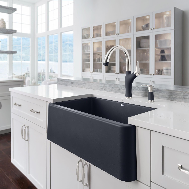 Blanco Kitchen Sinks: Beauty & Brains: Blanco Ikon Kitchen Sink