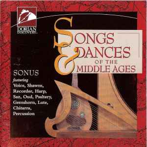 Songs And Dances Of The Middle Ages (CD, Album) album cover