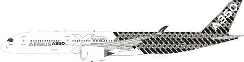 Airbus A350-900 House F-WWCF (with stand) | is due: December 2019