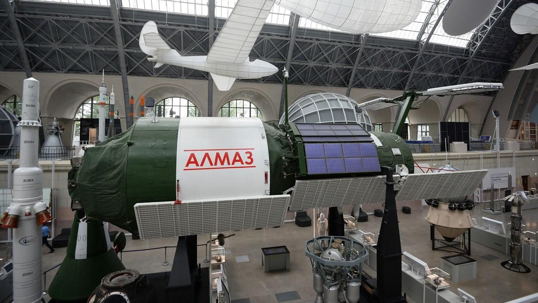 Muestran la única estación espacial de combate del mundo, desarrollada en la Unión Soviética y protegida con un cañón y un caza interceptor