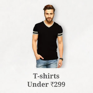 T-Shirts under Rs.299
