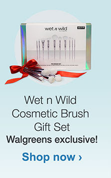 Wet n Wild Cosmetic Brush Gift Set. Walgreens exclusive! Shop now