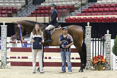 Victoria Colvin and Clearway with groom Benji Hernandez and Jennifer Glass of CCHS. Photo © Jennifer Wood Media, Inc.