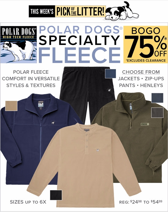 BOGO 75% OFF Polar Dogs Specia...