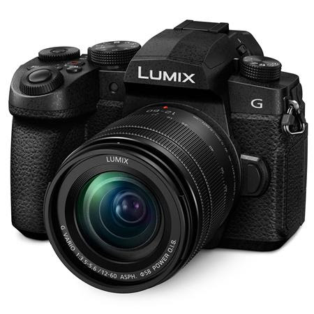 Lumix DC-G95 Mirrorless Camera with 12-60mm f/3.5-5.6 Lumix G Power OIS Lens, Black