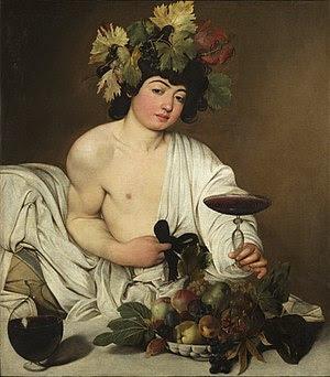 Image result for bacchus caravaggio