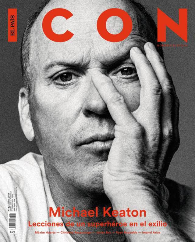 Michael Keaton vuelve a brillar en la gran pantalla y también en la portada de ICON