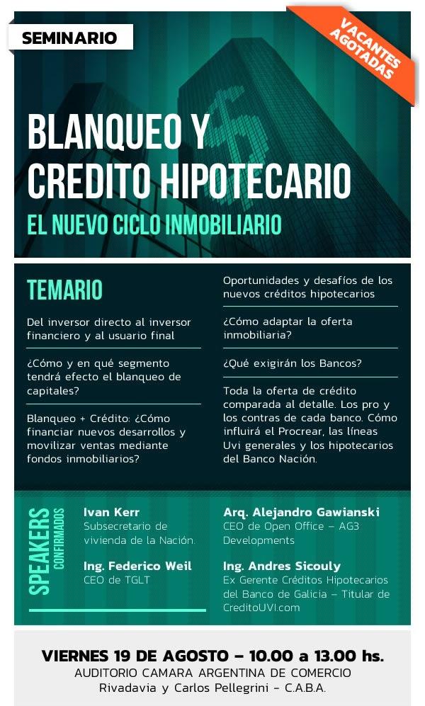 BLANQUEO Y CREDITO HIPOTECARIO