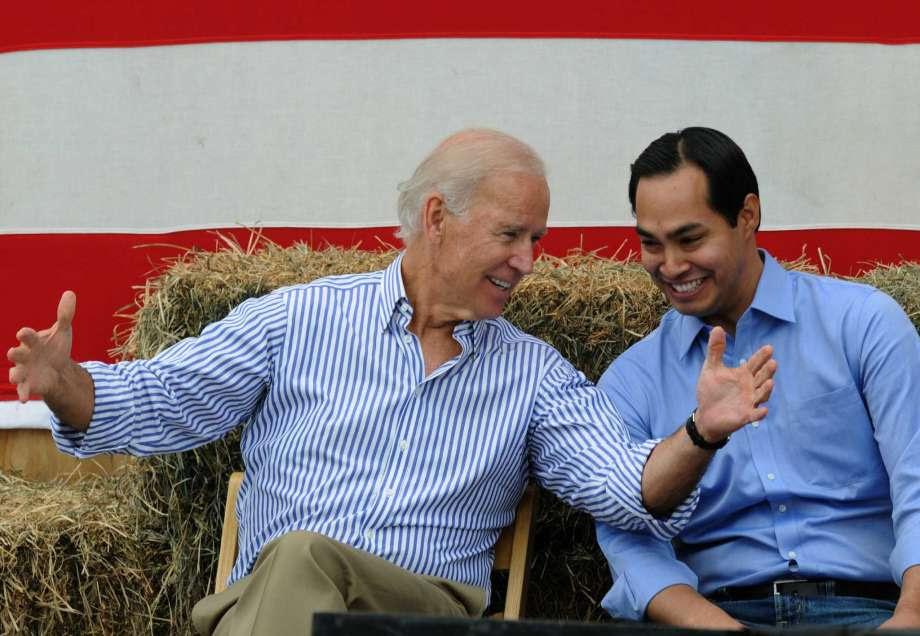 Biden and Castro
