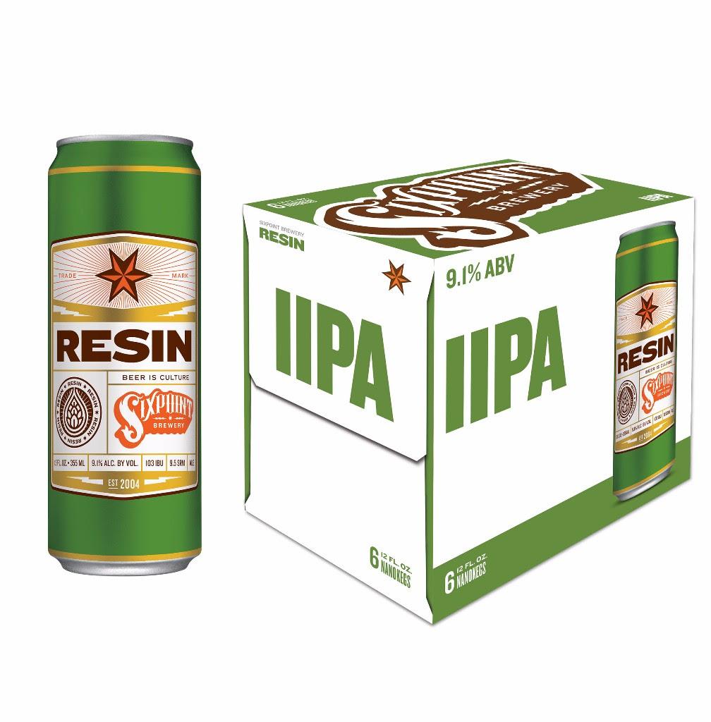 Sixpoint Brewery Resin® IIPA