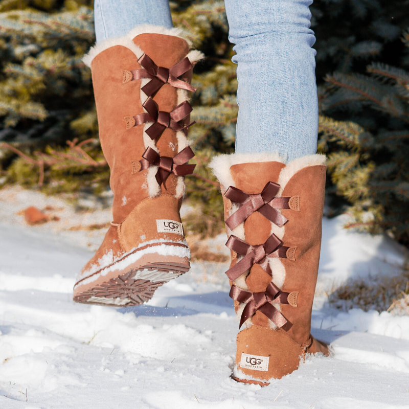 $84.99 (reg $250) UGG Women's Bailey Bow Tall Boots from Proozy