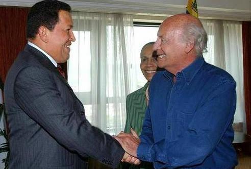Chávez y Galeano.
