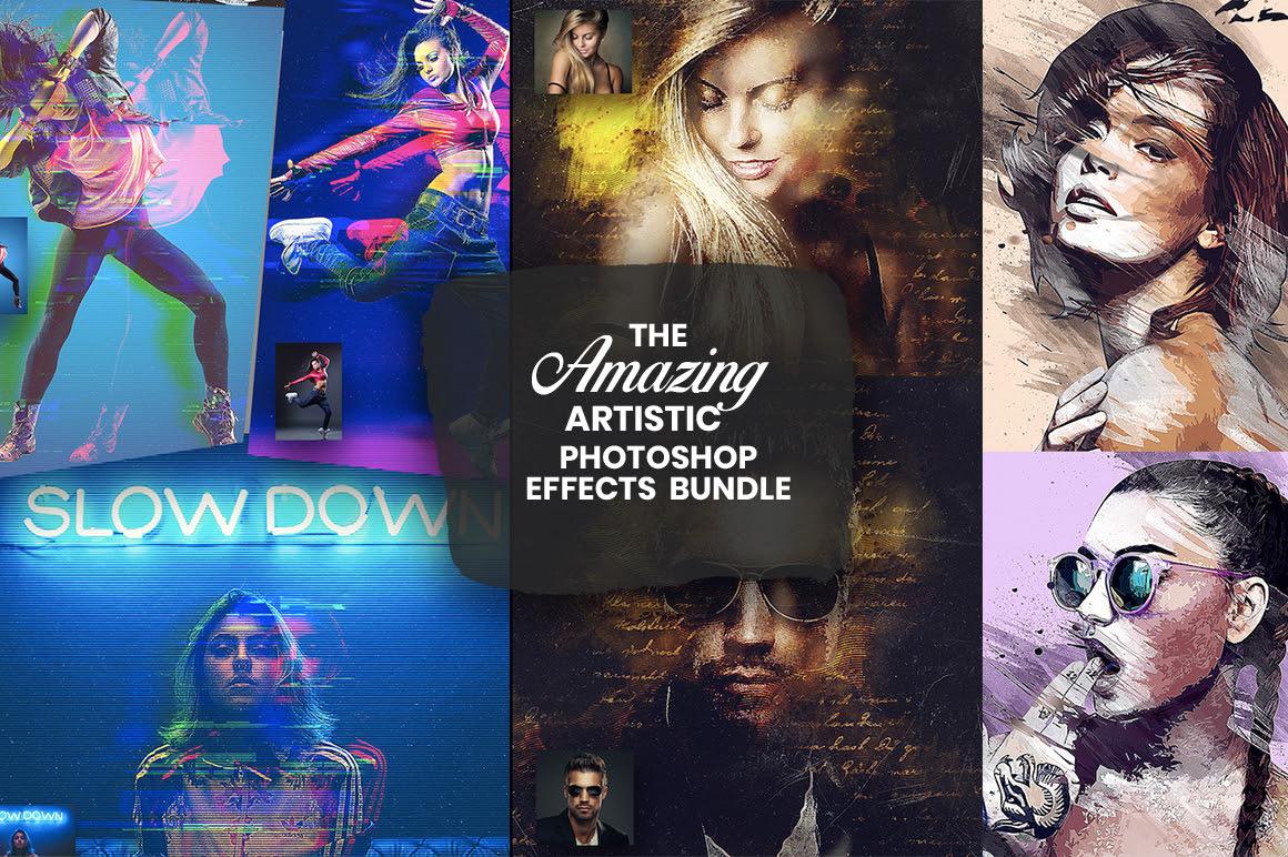 Amazing Artistic Photo Effects Bundle